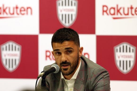 David Villa anunció su retiro del fútbol a finales de año. Foto: EFE.
