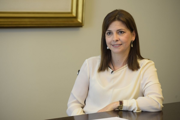 María Martinelli, directora de Martinelli. Foto: Leonardo Mainé.