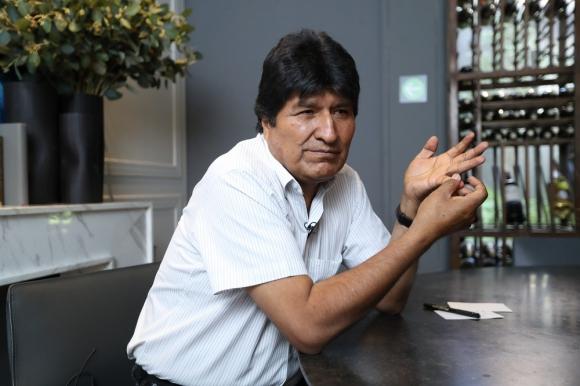 Evo Morales, expresidente de Bolivia. Foto: Germán Espinosa/El Universal/GDA
