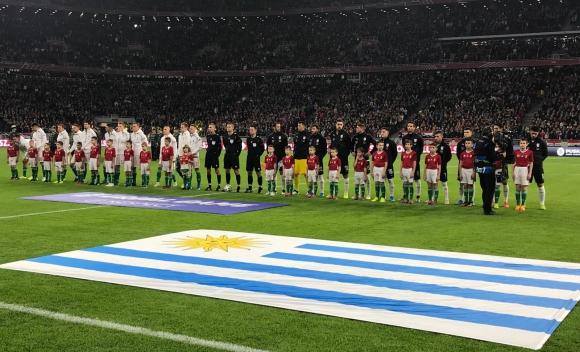 Hungría vs. Uruguay