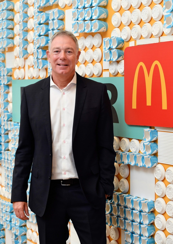 Keith Kenny vicepresidente de sustentabilidad de Mc Donald's