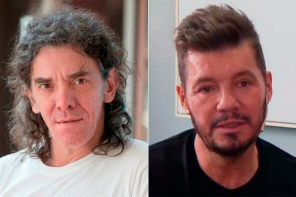 Maximiliano Guerra y Marcelo Tinelli. Foto: La Nación / GDA.