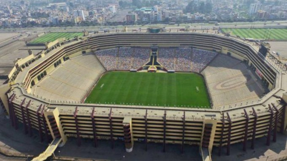 Estadio Munumental de Lima.