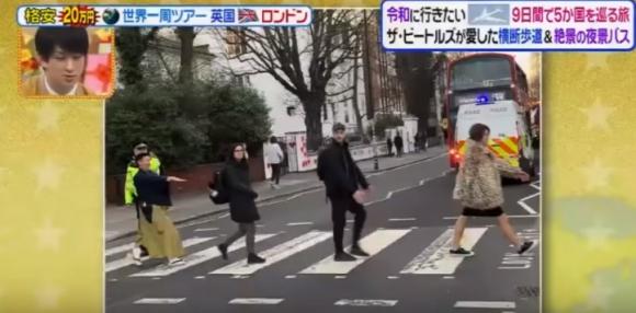 Analizando humanos en Abbey Road, un video de Agustín Ferrando. Foto: Captura de YouTube