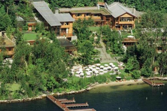 La casa de Bill Gates está valuada en 135 millones de dólares. Foto: El Tiempo -  GDA.