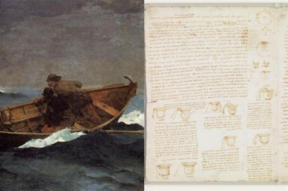 Bill Gates tiene un manuscrito de Leonardo Da Vinci y una pintura de Winslow Homer. Foto: El Tiempo - GDA