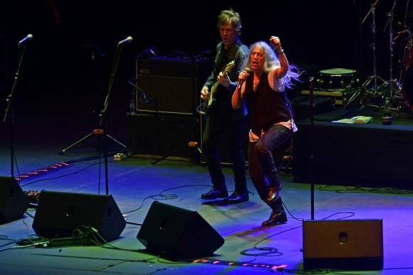 Patti Smith en el Teatro de Verano. Foto: Fernando Ponzetto