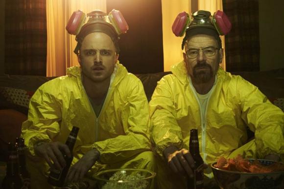 Jesse Pinkman y Walter White, protagonistas de Breaking Bad