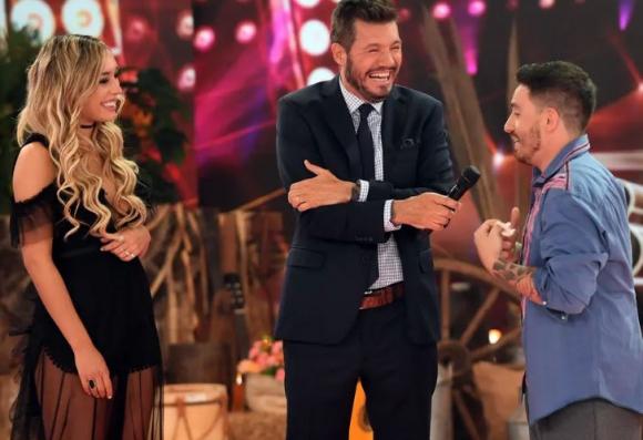 Melina Carballo, Marcelo Tinelli y Federico Bal