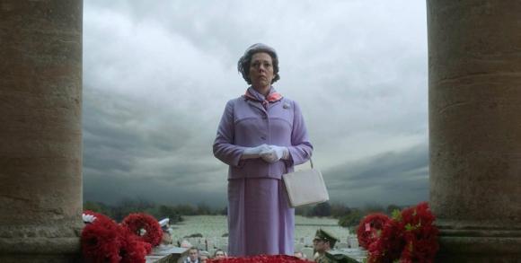 """Olivia Colman en """"The Crown"""". Foto: Difusión"""