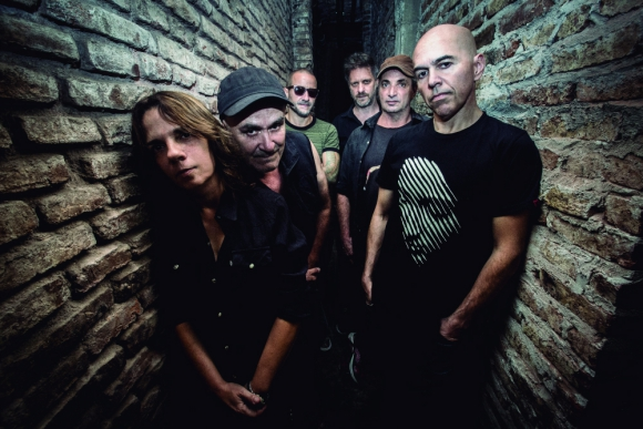 La banda argentina Las Pelotas. Foto: Malu Campello