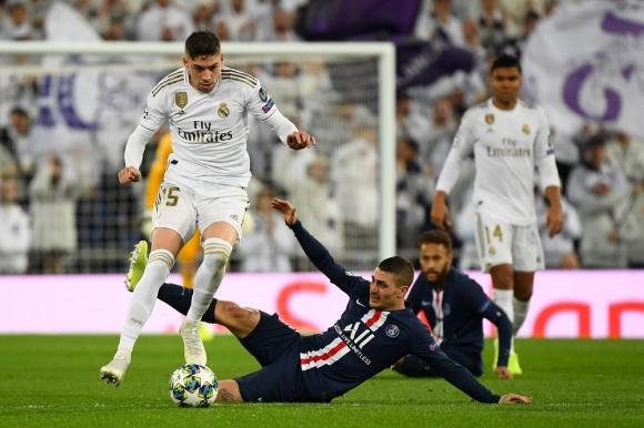Federico Valverde en el Real Madrid
