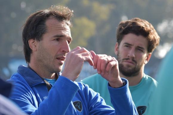 Pablo Bouza, head coach de Peñarol en la Super Liga de Rugby
