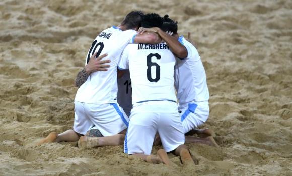 Uruguay en el Mundial de Fútbol Playa 2019