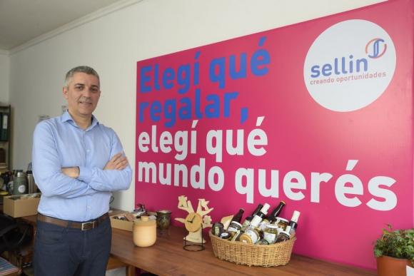 Diego Fraga, cofundador de Sellin. Foto: Leonardo Mainé.