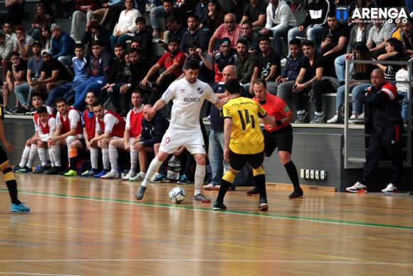 Futsal: Nacional y Peñarol jugarán la ida de los Playoff en Las Piedras. Foto. Matías Pérez (archivo) / El País