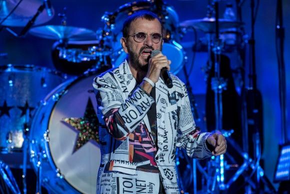 Ringo Starr fue el bateriasta de la banda The Beatles. Foto: EFE