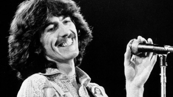 George Harrison en 1974. Foto: Getty Images.