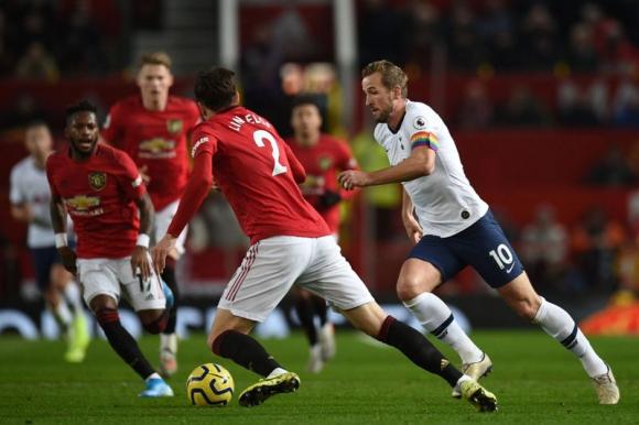 Manchester United vs Tottenham por Premier League. Foto: AFP.