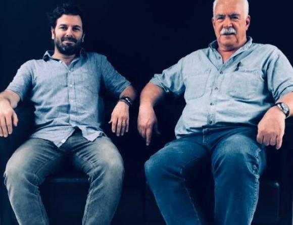 Juanchi Hounie y Raúl Ponce de León