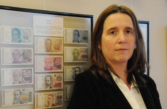 Marina Dal Poggetto, economista argentina, consultora privada. Foto de cortesía
