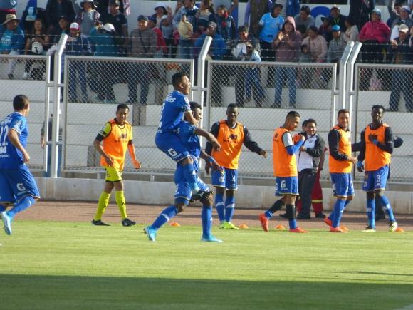 Binacional goleó 4-1 como local a Alianza Lima en la final del fútbol de Perú. Foto: ESPN Perú.