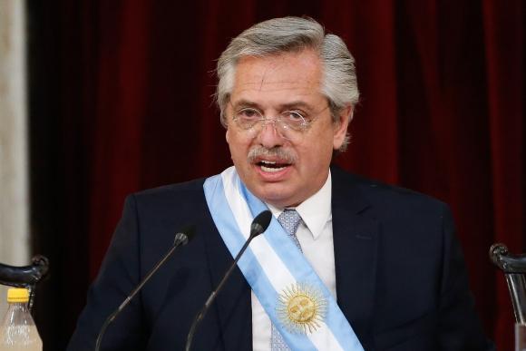 Alberto Fernández. Foto: EFE.