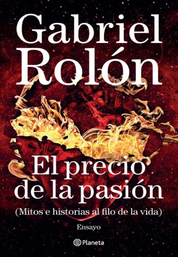"""Portada del libro """"El precio de la pasión"""" de Gabriel Rolón. Foto: Difusión"""