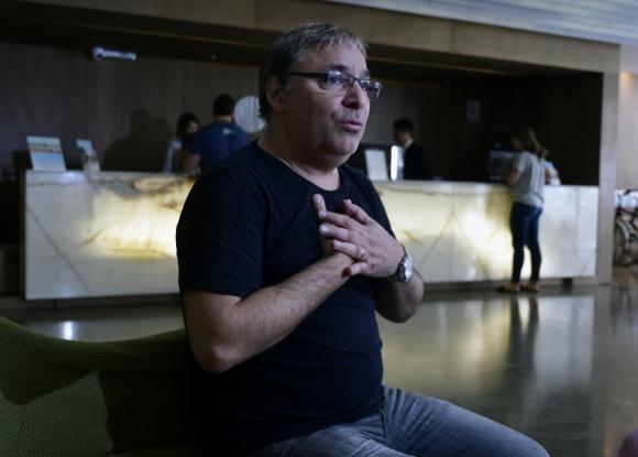 Gabriel Rolón. Foto: Fernando Ponzetto