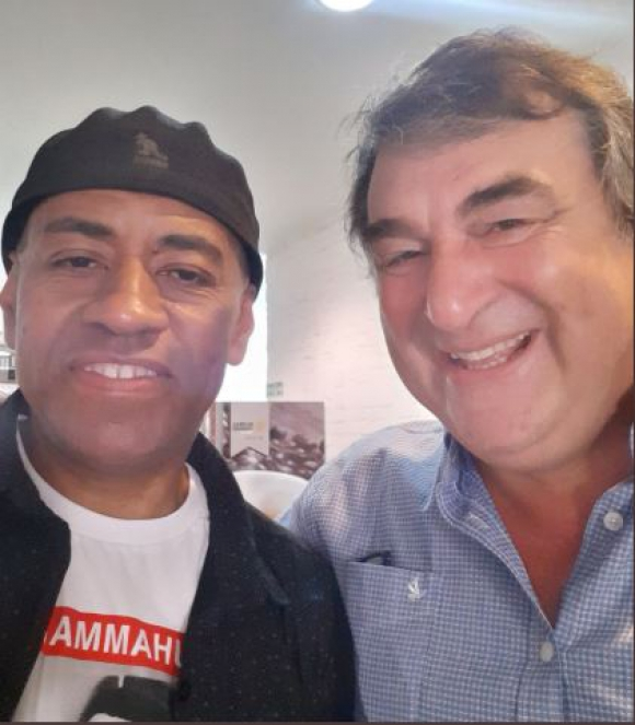 Bocha Pintos y Sergio Botana