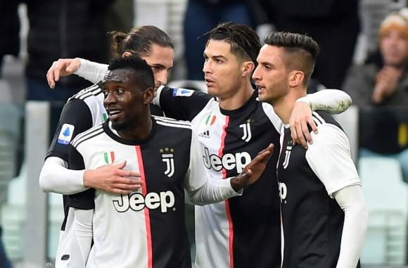 Juventus derrotó 3 a 1 al Udinese con doblete de Cristiano Ronaldo. Foto: Reuters.