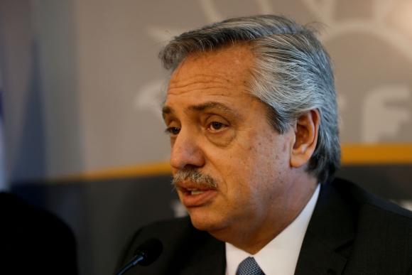 Alberto Fernández, nuevo presidente de Argentina. Foto: Reuters