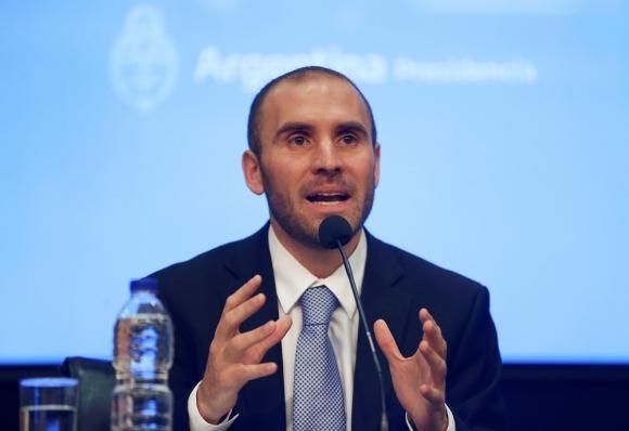 Martín Guzmán, ministro de Economía argentino. Foto: Reuters