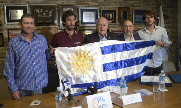 Felipe Macció, Pablo Cuevas, Ruben Mauturet, Alfredo Etchandy y Franco Roncadelli