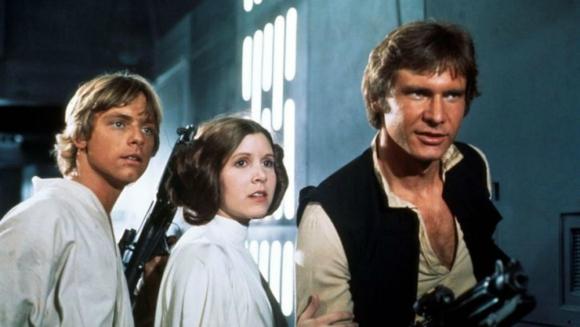 """Imagen de la película """"Star Wars - Episodio IV: Una nueva esperanza"""". Foto: Difusión"""
