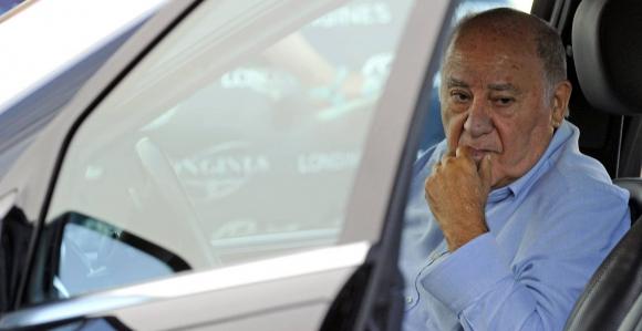 Amancio Ortega, fundador de Zara. Foto: AFP.