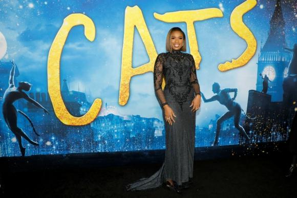 """También destacó la actriz y cantante Jennifer Hudson, otra de """"Cats"""". Foto: Reuters"""