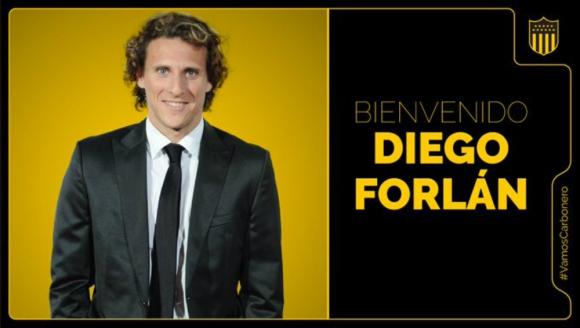 Diego Forlán nuevo DT de Peñarol
