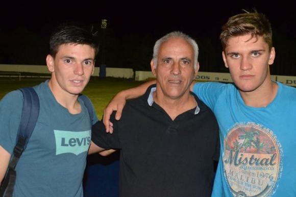 Jugadores que dijeron presente en anteriores fiestas duraznenses. Foto: Víctor D. Rodríguez.