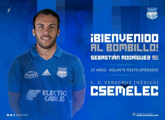Sebastián Rodríguez cambió de equipo