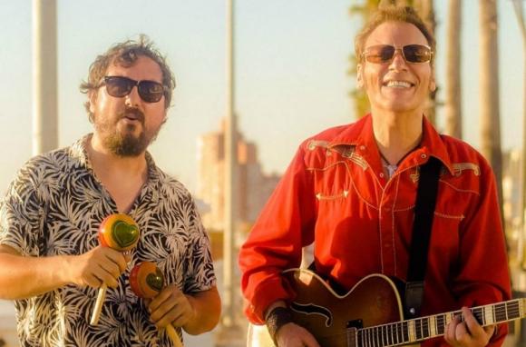 Jorge Nasser y Max Capote. Foto: Facebook de Jorge Nasser