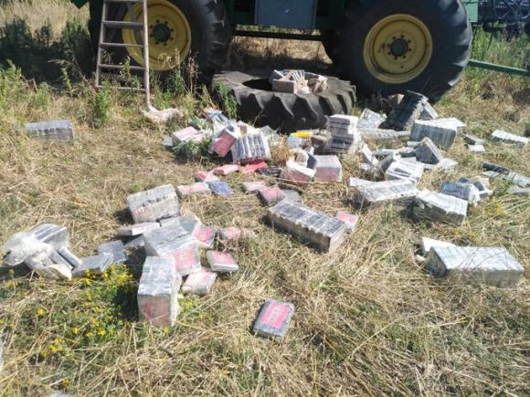 Incautaron más cocaína en una estancia del departamento de Soriano. Foto: @MI_UNICOM