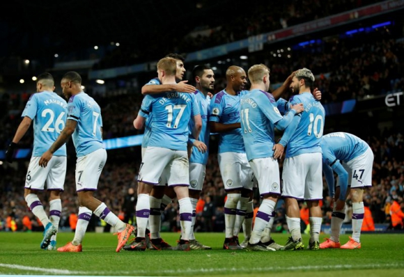 Manchester City venció 2 a 0 al Sheffield United. Foto: Reuters,