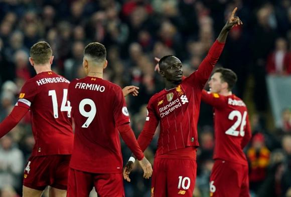 Liverpool venció 1 a 0 a Wolverhampton. Foto: Reuters.