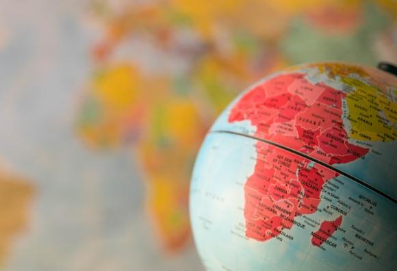 África en mapamundi