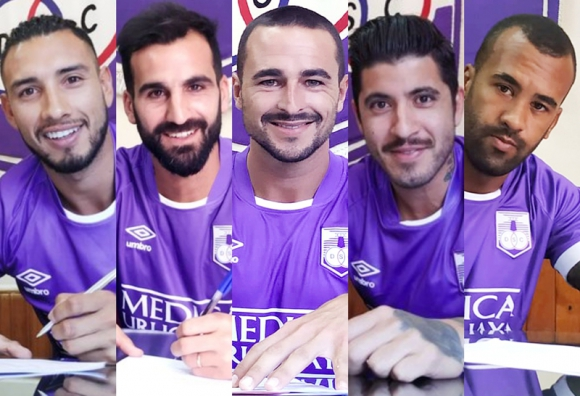 Las incorporaciones de Defensor Sporting de cara a la temporada 2020. Fotos: @DefensorSp.