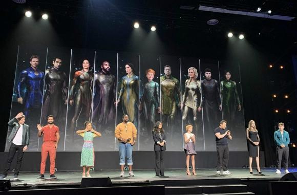 """Presentación de """"The Eternals"""" en la D23. Foto: Difusión"""