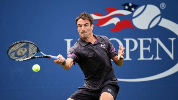 Tommy Roblero en el US Open