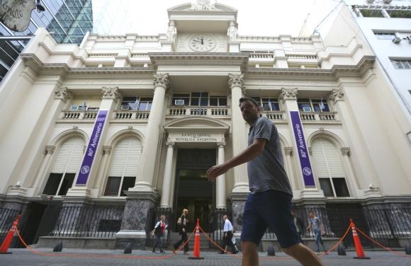 Banco Central de la República Argentina. Foto: EFE