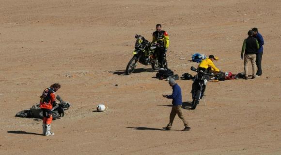Un piloto portugués perdió la vida en el Rally Dakar